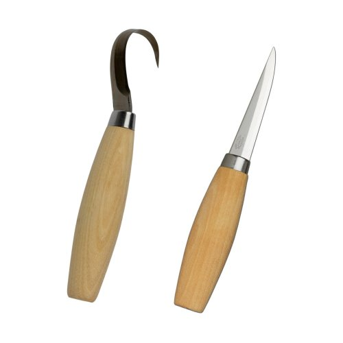 Mora 106 & 164 Knife Set | Wood & Spoon Carving Knife Set