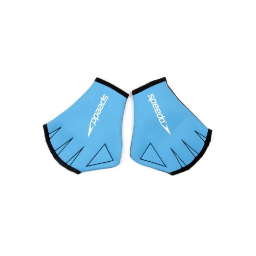 Speedo Unisex Adult Aqua Glove, Blue, Small
