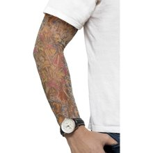 Assorted Men's Tattoo Arm Sleeves -  tattoo arm sleeves fancy dress 2 punk accessory assorted smiffys costume colour