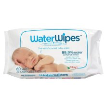 DermaH20  Water Wipes - Worlds Purest Baby Wipes 60s