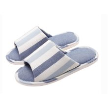 (Made By Cotton)Skidproof The Simple Style Of Home Slippers(Blue 1)