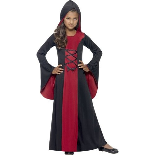 Kids Hooded Vampire Costume (Medium) | Halloween