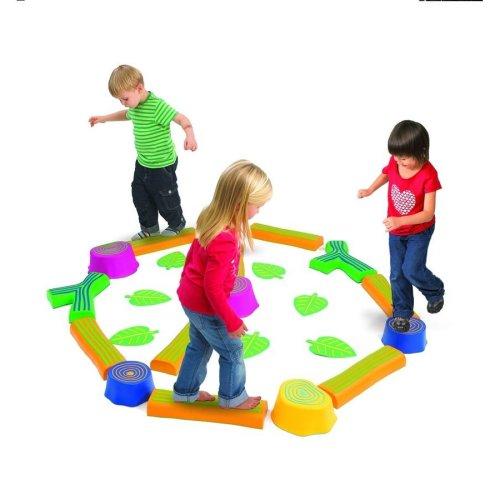 Childrens Step-A-Forest / Balance Beam Set (74604) - Nursery/School