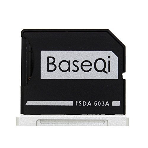 "BASEQI aluminum microSD Adapter for MacBook Pro 15"" Retina"