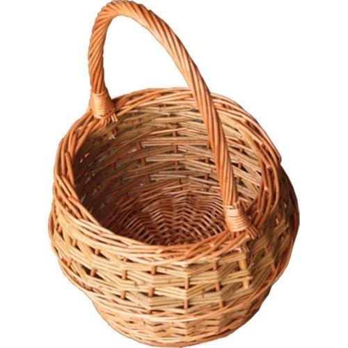 Small Rustic Egg Shopping Basket