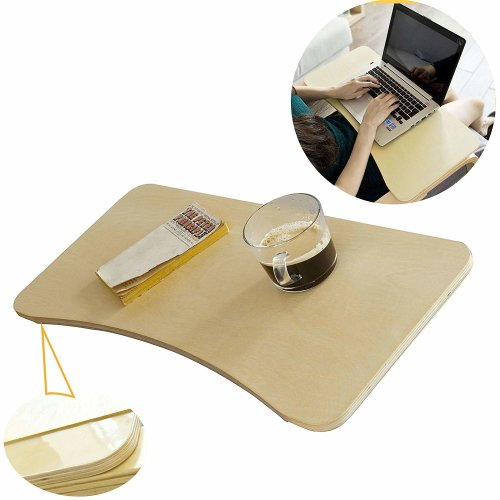 SoBuy® FBT33-N, Wooden Tray Table Stand, Laptop Desk Lapdesk