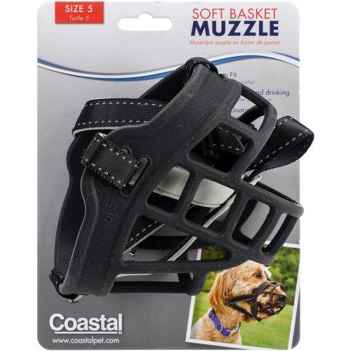 Coastal Soft Basket Muzzle-Retriever, Boxer, Doberman