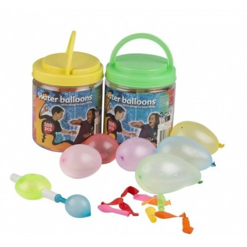500 Waterbombs Ballons With Pump