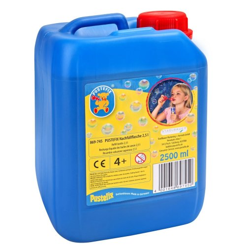 Pustefix Nachfüllflasche 2,5 Liter, 1Stück