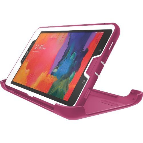 the latest f6f83 374ea OtterBox Defender Series for Samsung Galaxy Tab Pro 8 4 White Peony Pink 77  40502