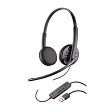Plantronics Blackwire C325 Stereo 3.5mm USB corded Headset for PC Tablet Mobile