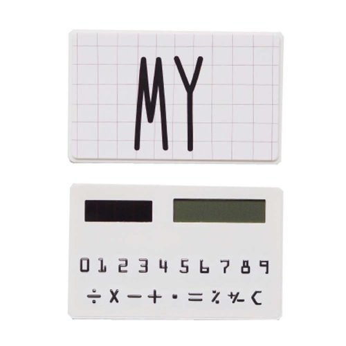 Creative Mini Solar Card Calculator Child Count Toy/Office Supplies,B8