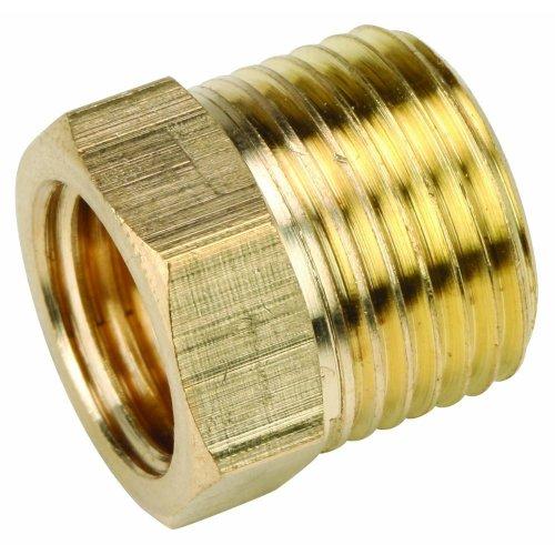 Brass Male 3/8 X 1/4 Bsp - Male X Female Reducing Bush Adapter Thread Reducer