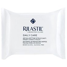 Rilastil Daily Care Make-Up Removing Wipes-25 ct