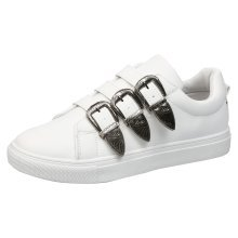Delta Womens Flat Buckle Trainers