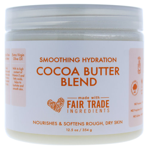 Smoothing Hydration Cocoa Butter Blend by Shea Moisture for Unisex - 12.5 oz Body Cream