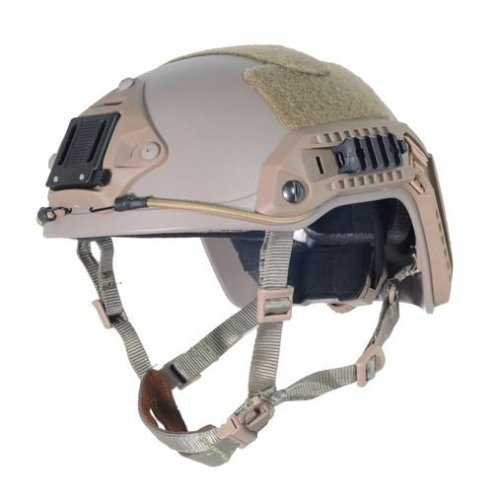Airsoft Ops Core Tan Sand De Swat  Maritime Fma Abs Helmet Jump Rail M/L