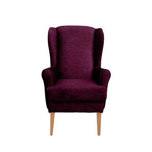 MAWCARE Darcy Orthopaedic High Seat Chair - 21 x 21 Inches [Height x Width] in Darcy Berry (lc21-Darcy_d)