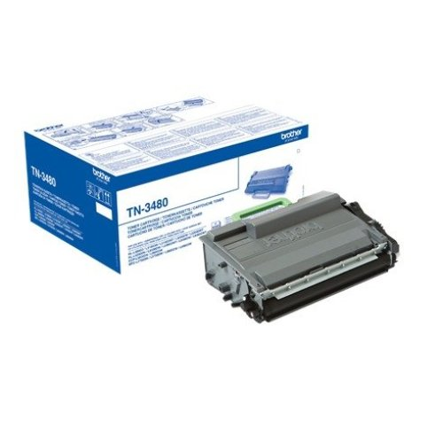 Brother Tn-3480 Cartridge 8000pages Black Laser Toner & Cartridge