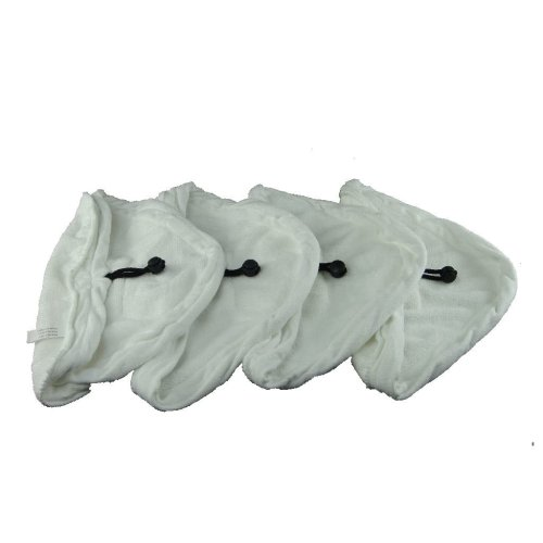 4 X Steam Mop Microfibre Cleaning Cloth Cover Pads Kit Fits Bionaire and Delta