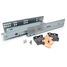 400mm Soft Close Invisible Under Mounting Drawer Runners (full extension)