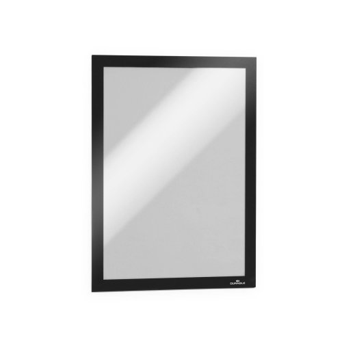Durable DURAFRAME A4 Self-Adhesive Magnetic Frame Signage and Information Display - Pack of 10