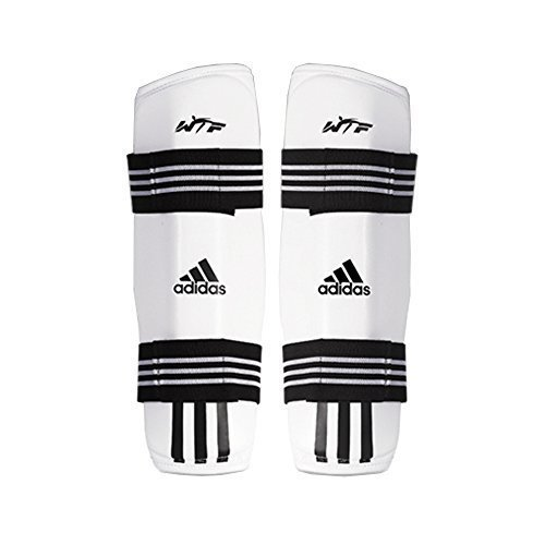 Adidas Taekwondo Shin Protector Shin Gear Guard Tkd Wtf Approved S To Xl 1 S 4 39 4 98Ft 134 152Cm