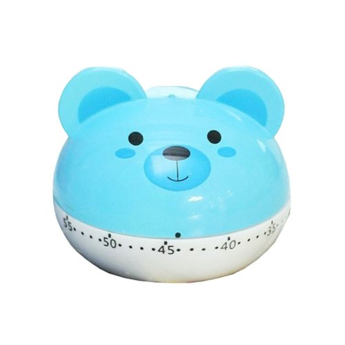 "[BLUE Bear]2.6""Cute Mechanical Movement Kitchen Timer/Reminder-60 Minutes"