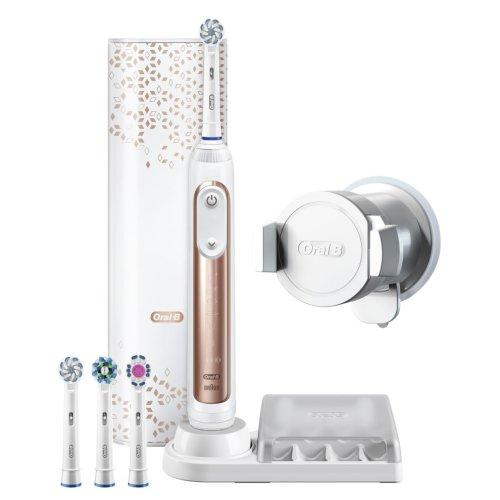 Oral-B Genius 9000S Electric Toothbrush - Rose Gold