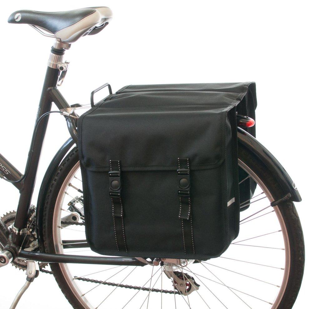 51513afde36 Beluko® Classic Double Panniers Bag Fashion Bicycle Cycle Bike Women's -  Mens(Black)