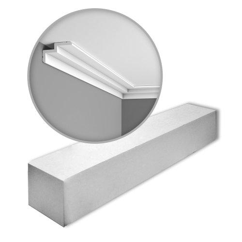 Orac Decor C390 MODERN STEPS Cornice moulding 1 Box 10 pieces | 20 m