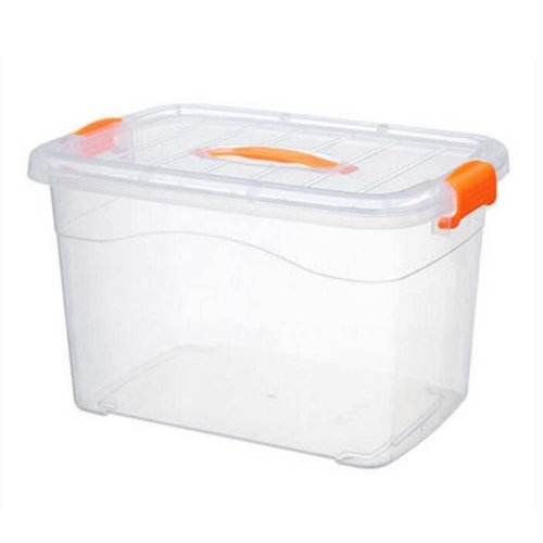Large Home Storage Box Finishing Box Moveable And Portable,Transparent