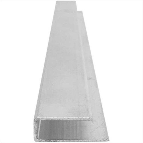 Aluminum U-Profile 8 ft L
