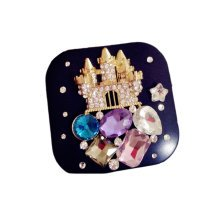 [BLACK Castle] Special DIY Contact Lenses Box Case/Holders Storage Container