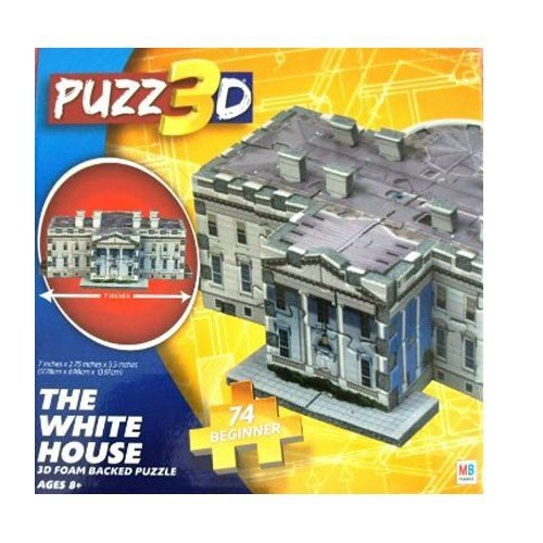 The White House 3D Foam Backed Puzzle