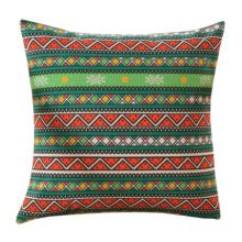 Concise Style Flowering Plant Throw Pillow Cushion Fashion Back Cushion Cover L