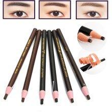 12Pcs/Set Eyebrow Pencil Eyeliner Cosmetic Permanent Makeup Waterproof Tattoo