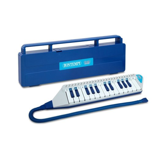 Bontempi 25 Keys Mouthpiano with Mouth Tube and Case