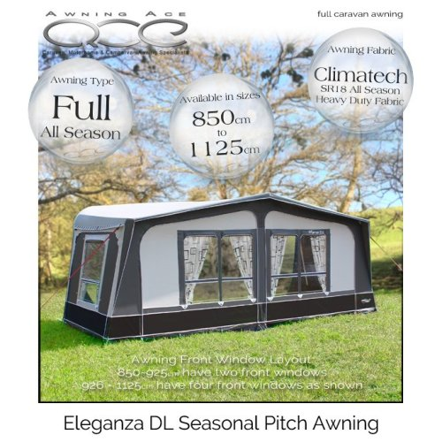 Camptech Eleganza DL Luxury Touring Caravan Awning