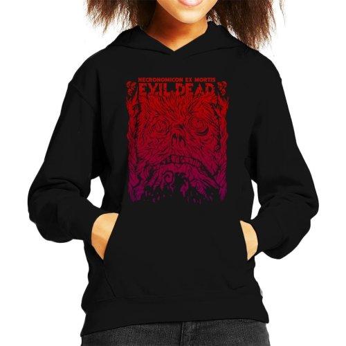 Necronomicon Ex Mortis Evil Dead Kid's Hooded Sweatshirt