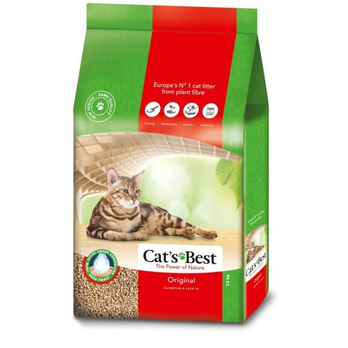 Cats Best Original (okoplus) Clumping Cat Litter 13kg (30l)