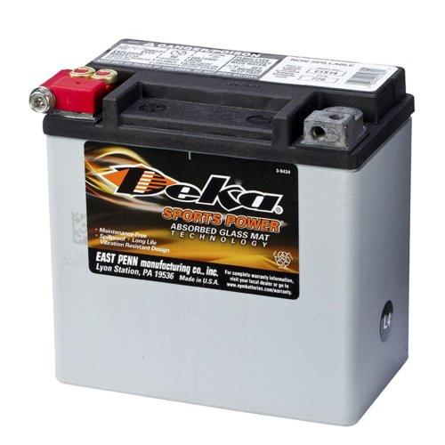 Deka Sports Power AGM Battery 12V 12Ah Maintenance Free Car Vehicle ETX14