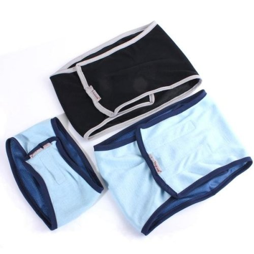 Male Dog Puppy Belly Wrap Band Toilet Training Diaper Sanitary Pants Underwear Dog Repeller