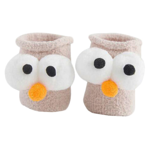 Baby Cool Socks Keep Warm Floor Socks Winter Thicken Boot Socks-A3