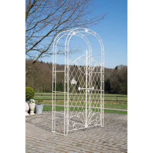 Rose arch with gate Melissa
