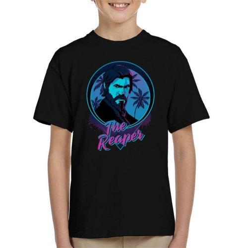 Fortnite The Reaper Neon Kid's T-Shirt